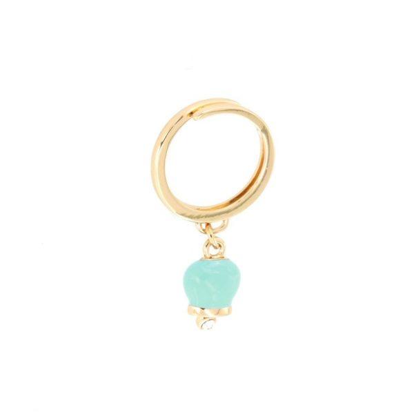 Anello Donna Bysimon Capri Collection Campanella Gold Smaltata