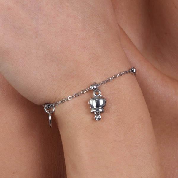 Bracciale Donna Bysimon Capri Collection Campanella Silver
