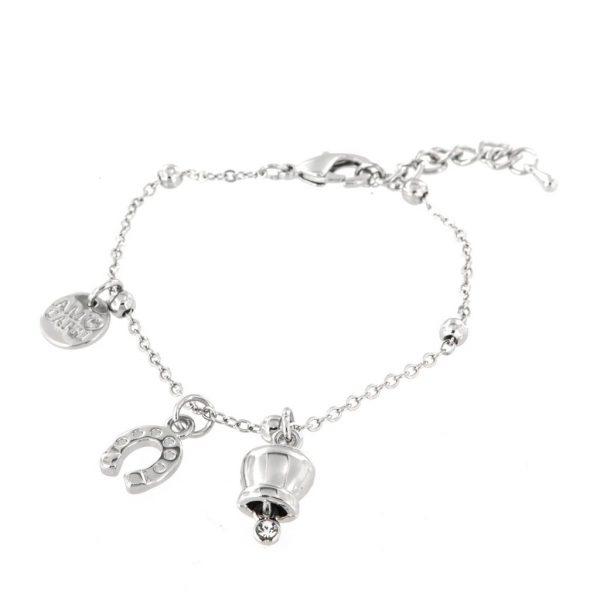 Bracciale Donna Bysimon Capri Collection Campanella Silver e Ferro di Cavallo