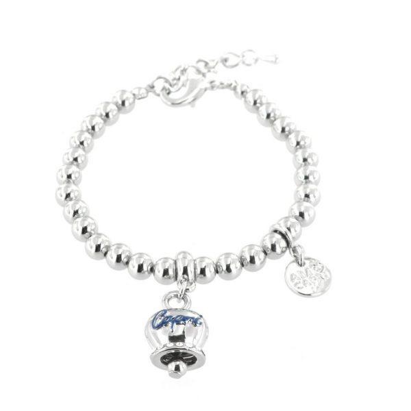 Bracciale Donna Bysimon Capri Collection Campanella Silver e Sfere