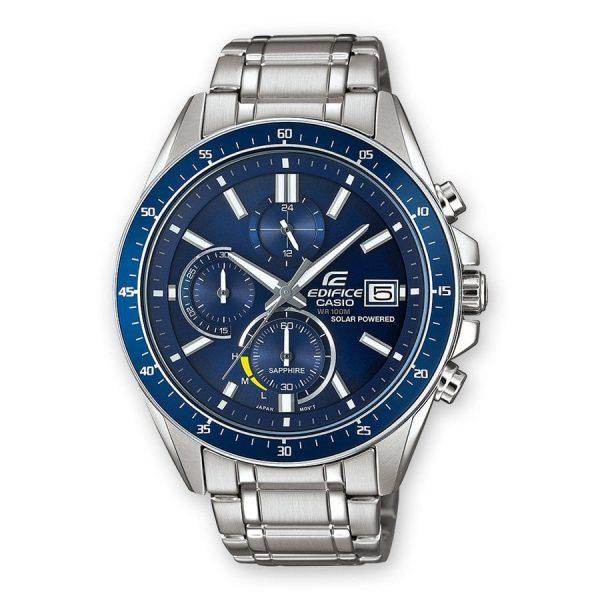 Orologio Uomo Casio Edifice Premium Collection Quadrante Blu