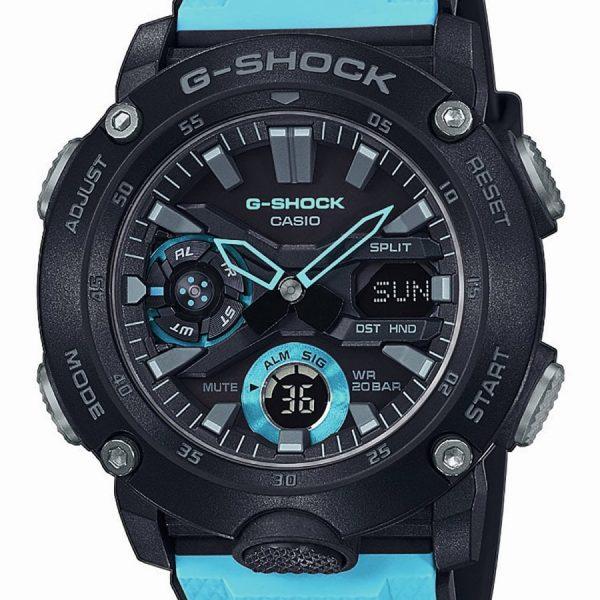 Orologio Uomo Casio G-Shock Classic Nero Blu