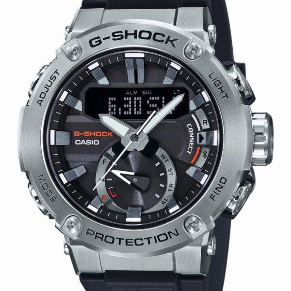 Orologio Uomo Casio G-Shock G-Steel Silver Quadrante Nero
