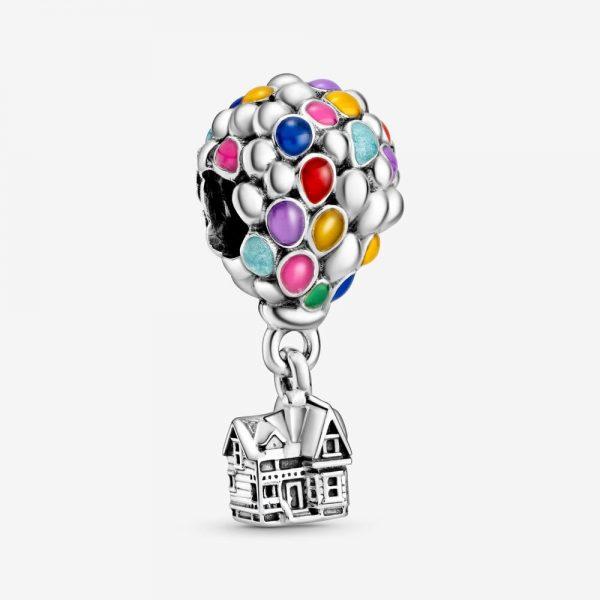 Charm Donna Pandora Disney Pendente Pixar Casa e Palloncini di UP