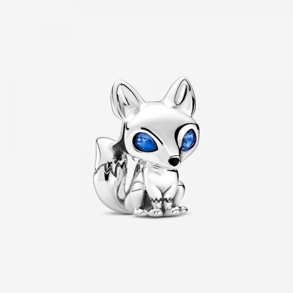 Charm Pandora Donna Volpe dagli Occhi Blu