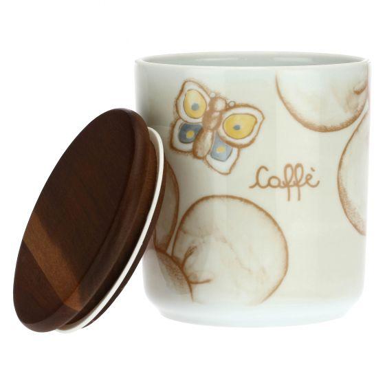 Thun Barattolo Porta Caffé in Porcellana Elegance