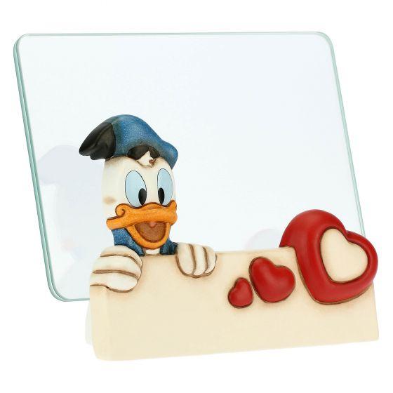 Thun Portafoto medio in vetro Paperino THUN Disney® formato 10x15 cm