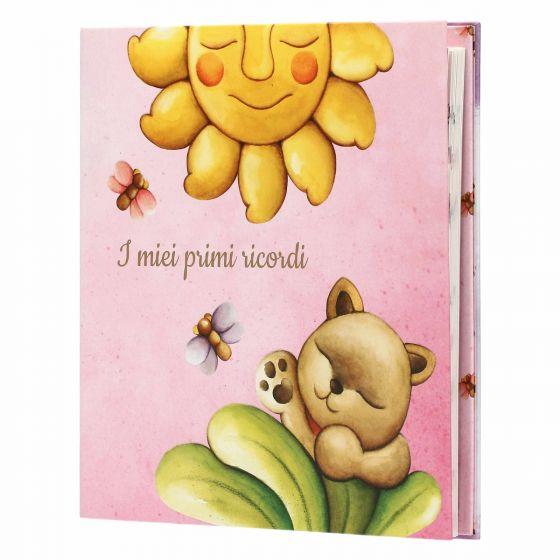 """Thun Album foto ricordo rosa bimba """"I miei piccoli ricordi"""""""