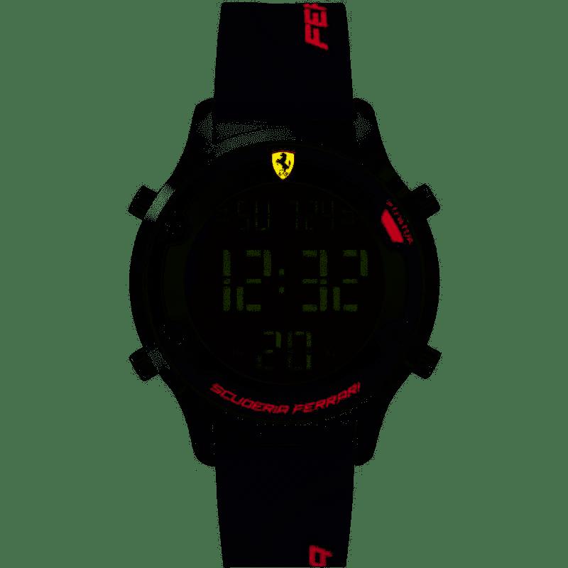 Orologio Uomo Ferrari Digitrack 40mm Qtz Digi Alloy